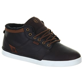 Etnies Jefferson Mid LX Shoes - Black/Brown