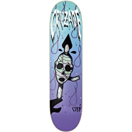 Cruzade Skewered Love Skateboard Deck - 7.87