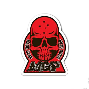 MGP Skull Sticker - Red