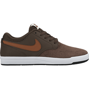 Nike SB Fokus Kids Skate Shoes - Baroque Brown/Hazlenut
