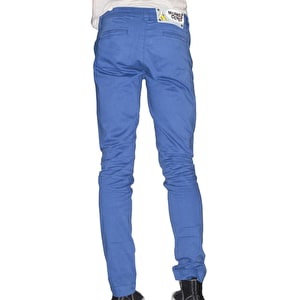 Monkee Genes Organic Slim Chino Autumn Sateen Yale Blue