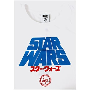 Hype A New Hope T-Shirt - White