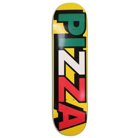 Pizza Tri Logo Deck Skateboard Deck 8.25