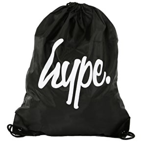 Hype Gym Bag - Black/White