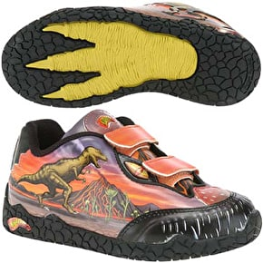 Dinosoles Dinorama T-Rex Shoes - Red