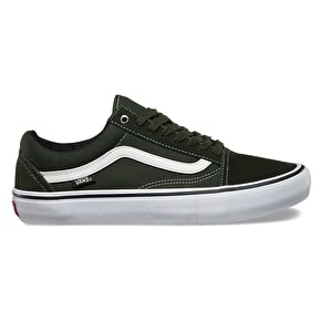 Vans Old Skool Pro Skate Shoes - Rosin/White