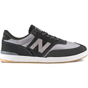 New Balance Numeric Allston 617 Shoes - Grey/Black Mesh