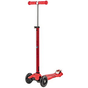 Maxi Micro Deluxe Complete Scooter - Red