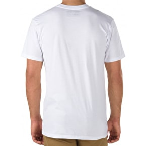 Vans OTW Logo Fill T-shirt - White/Acid Palm