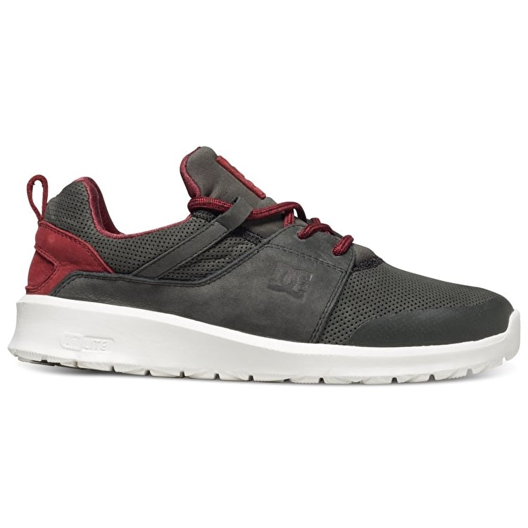 DC Heathrow Prestige Shoes - Grey/Red