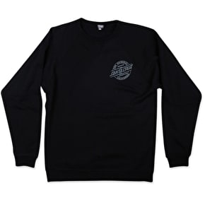 Santa Cruz Crewneck - Bolt Black