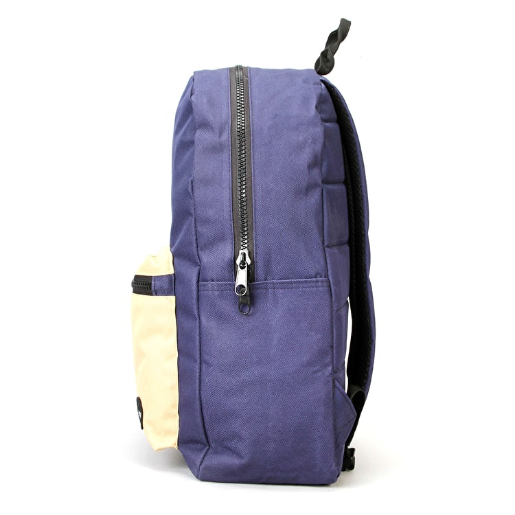 Globe Dux Deluxe Backpack - Navy/Tan