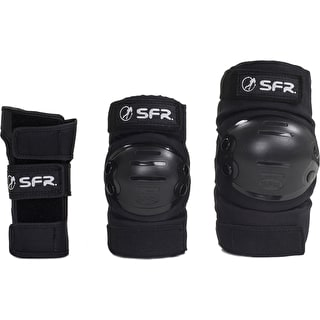 SFR Youth Ramp Triple Pad Set - Black