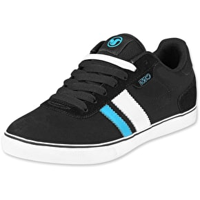 DVS Milan 2 CT Skate Shoes - Black/Blue UK 7 (B-Stock)