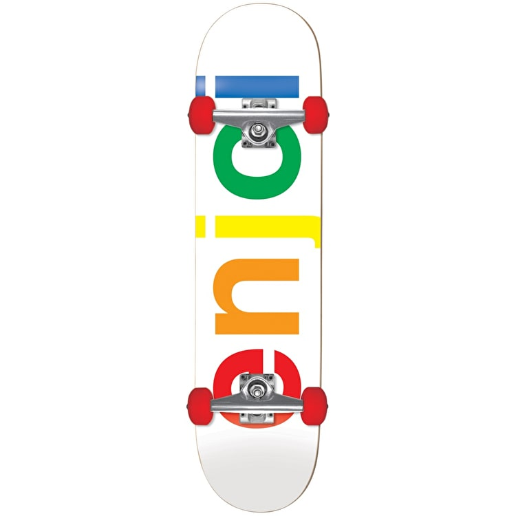 Enjoi Spectrum Complete Skateboard - White 7.5""