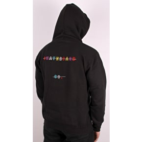 National Skateboard Co Redacted Hoodie - Black