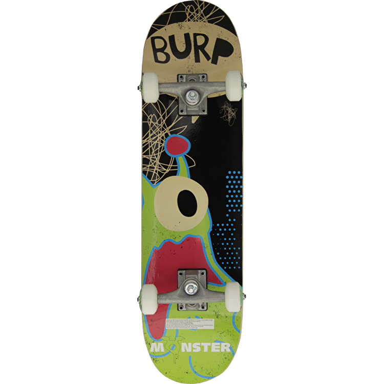 Monster Burp! Complete Skateboard