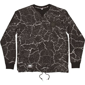 DGK Crew Fleece - Blacktop Black