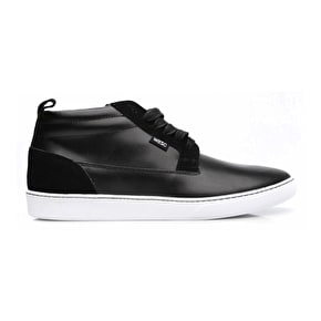 WeSC Lifestyle Hagelin Shoes - Black Leather