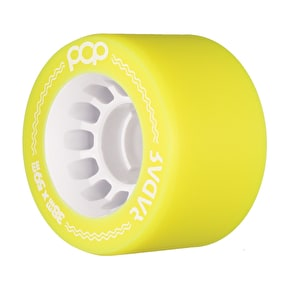 Radar POP 59mm Roller Derby Wheels - Yellow 88a (Pack of 4)