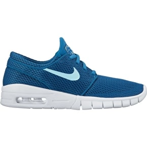 Nike SB Stefan Janoski Max (GS) Kids Skate Shoes - Industrial Blue/Still Blue