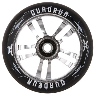 AO Quadrum 10-Star Scooter Wheel 100mm - Silver