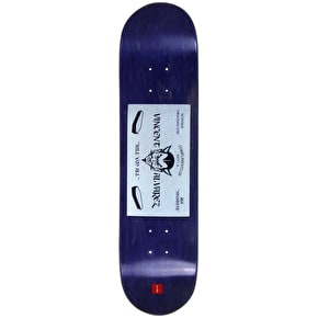 Chocolate Calling Card Skateboard Deck - Alvarez 8