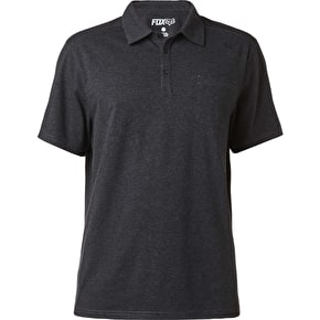 Fox Legacy Polo T-Shirt - Heather Black