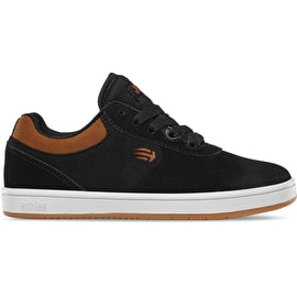 Etnies Joslin Kids Skate Shoes - Black/Brown