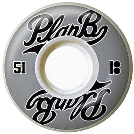 Plan B Past Time Skateboard Wheels - 51mm