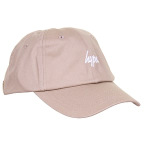 Hype Script Dad Hat - Sand/White