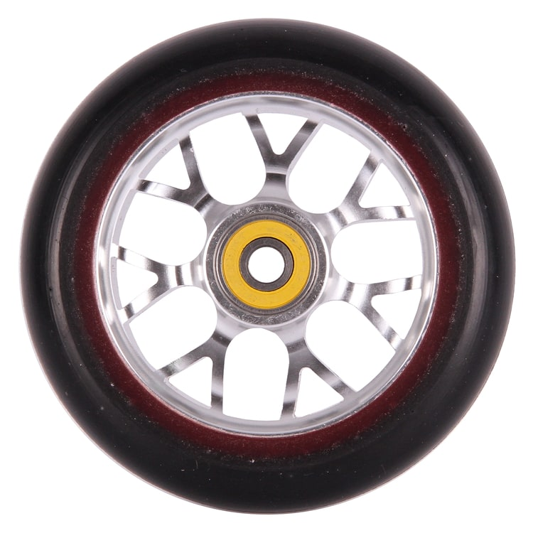 Eagle Sport Hardline 2-Layer X6 Panthers Scooter Wheel - Black/Silver 110mm