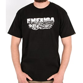 Emerica Burnout T shirt - Black