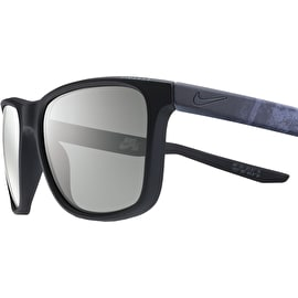 Nike SB Unrest Sunglasses - Matte Black/Deep Pewter With Grey Lens