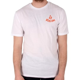 Volcom Chill T shirt - White
