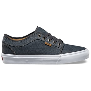 Vans Chukka Low Shoes - (Textured Suede) Dark Shadow