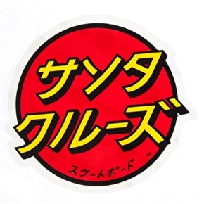 Santa Cruz Sticker - Japanese Dot