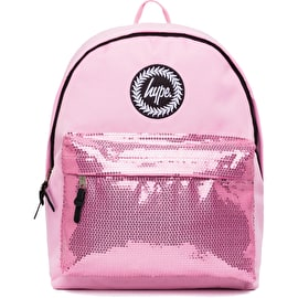 Hype Orchid Sequins Backpack - Pink