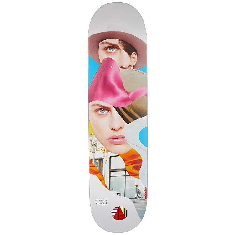 Almost Girl Collage R7 Pro Skateboard Deck