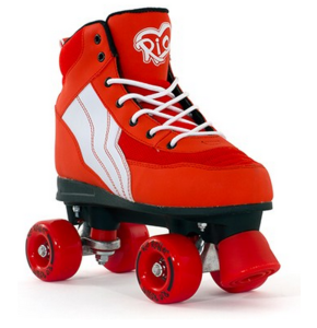 Rio Roller Pure Quad Skates - Red/White