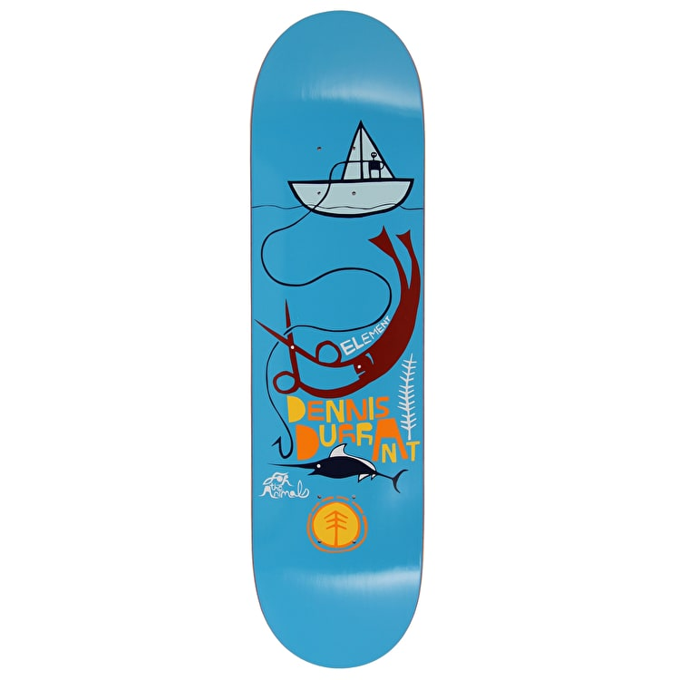 Element For The Animals Durrant Featherlight Skateboard Deck - 8.3125""