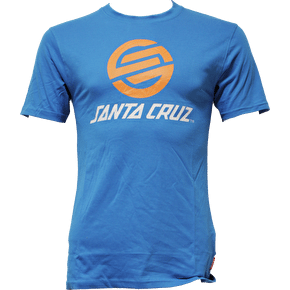 Santa Cruz Stripknot T-Shirt - Swedish Blue