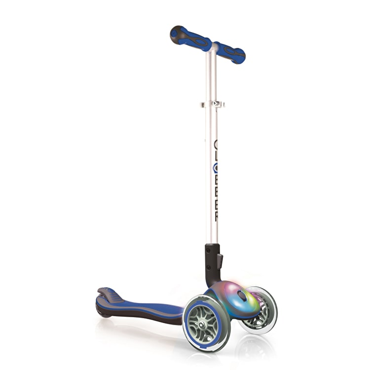 Globber My Free Elite Flash Complete Scooter - Navy
