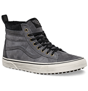 Vans Sk8-Hi Shoes - (MTE) Pewter Wool