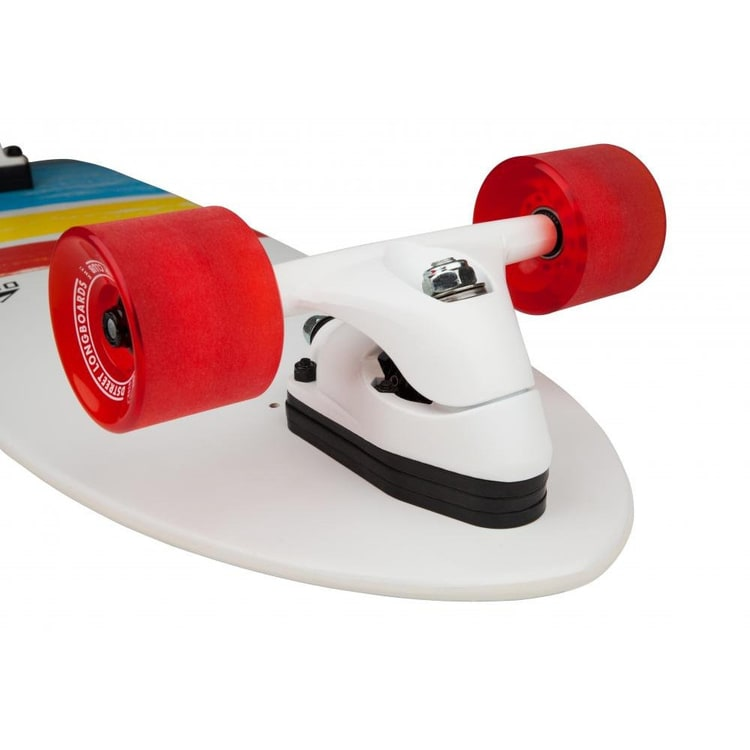 D-Street Surfskate Cut Back Complete Cruiser - Multi 31""