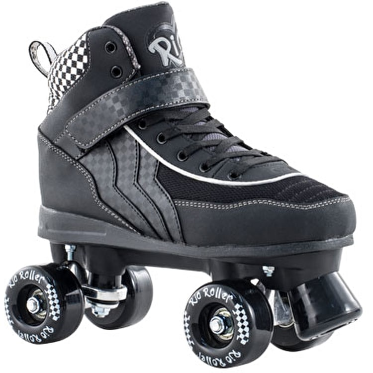 Rio Roller Mayhem Quad Skates - Black/White