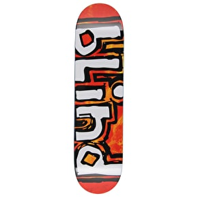 Blind Trippy OG RHM Skateboard Deck - Orange Burst 8.125