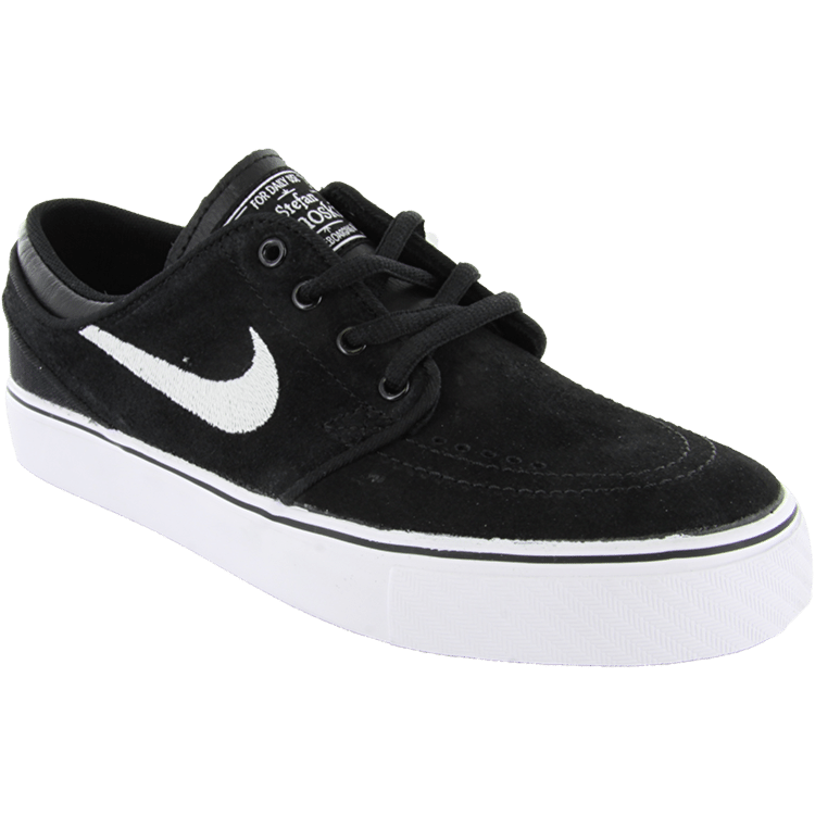 B-Stock Nike Stefan Janoski Kids' Shoes - Black/White/Gum - Size - UK 5.5 (Size error)