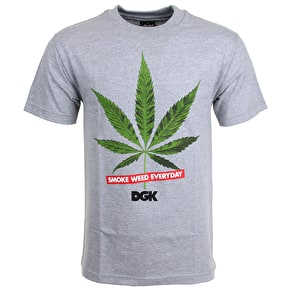DGK Smoke Weed Everyday T-Shirt - Athletic Heather