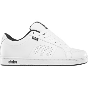 Etnies Kingpin Skate Shoes - White/Navy